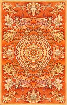 Orange and yellow area rug. Mellow Yellow, Orange Yellow, Orange Color, Orange Orange, Burnt Orange, Orange You Glad, Orange Is The New, Samhain, Kalender Design