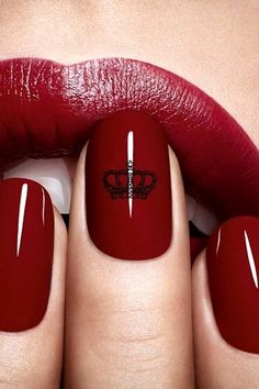 Try as she might, my manicurist cannot break me of my obsession with blood red nails. This one? Dior Jubilee