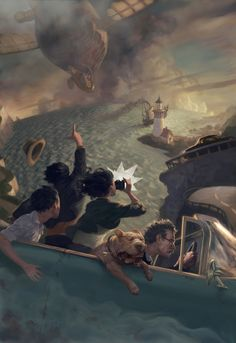 Fantasy by Jon Foster - I love the fact that you can't help but conjure up a story when you look at this image.