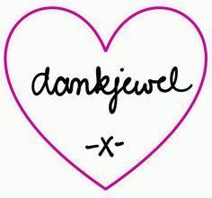 dankjewel -x-