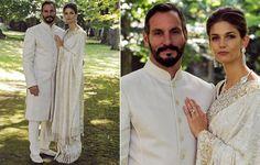 American model Kendra Spears and the prince Rahim Aga Kahn Royal Wedding