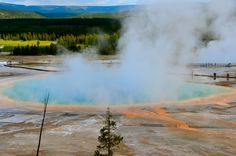 Grand Prismatic Spring - Yellowstone | by sloprinzi