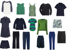Chic Sightings: Navy and Green | The Vivienne Files