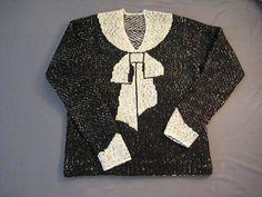 Elisa Schiaparelli´s Bowknot Sweater - Free Pattern