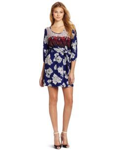D.E.P.T. Women's Eccentric Flower Dress « Clothing Impulse