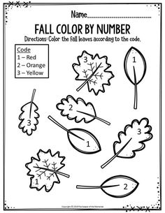 Printable worksheets covering lots of preschool skills. You'll find math & literacy worksheets and of course cutting and tracing practice too. Fall Preschool Activities, Printable Preschool Worksheets, Preschool Colors, Numbers Preschool, Free Preschool, Preschool Lessons, Preschool Learning, Kindergarten Worksheets, In Kindergarten