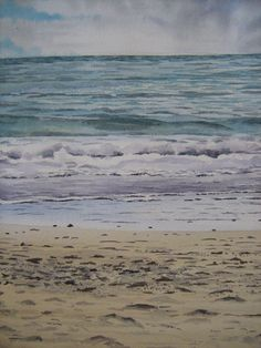 Take a look at this recent entry to our competition by Louisa Saffioti - Paint a seascape or harbour scene to win copies of David Bellamy books from Search Press Painting Competition, Seascape Paintings, Somerset, Waves, Scene, Gallery, Artist, Outdoor, Outdoors