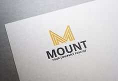 Mount Logo by Zaujah on @creativemarket