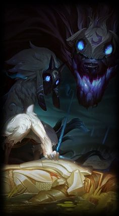 League of Legends- Kindred, the Eternal Hunters