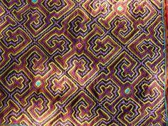 ayahuasca cloth (shipibo indian textile)
