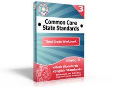 Third Grade Common Core Workbook - Common Core Standards | Common Core Activities, Worksheets, and Workbooks.