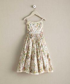 Girls wildflower dress, summer dresses