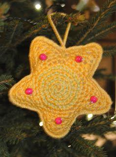 Crochet star  kaksneljaseitteman.blogspot.fi