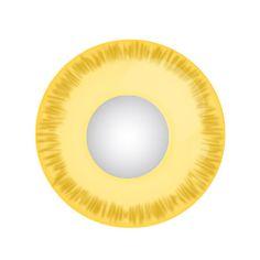 Avatar - gelbe Kontaktlinse mit Stärke von Lensspirit #contacts #contactlenses