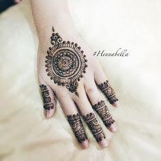 Party Henna design by Hennabella . <3