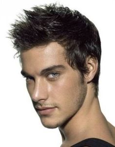 mens short spiked haircuts - Shane
