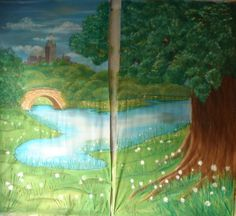 Alice in Wonderland backdrops. School Drama. - WetCanvas