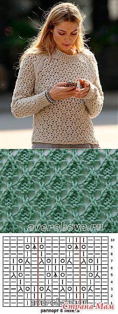 Узор в копилочку - Вязание - Страна Мам