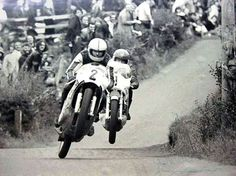 Joey Dunlop and Ray McCullough Temple Road Races