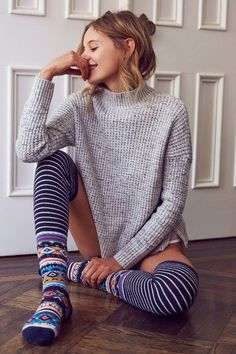 BDG Waffle Stitch Mock-Neck Sweater