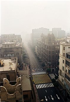 Cairo. I miss the mornings in Egypt and watching people get ready to start their day