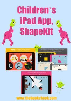 Children's iPad App, ShapeKit