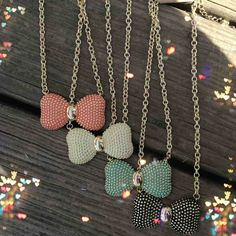 Bow Necklaces cute for anyone any age