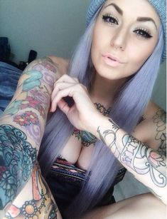 So Gorgeous! Sexy girl #Selfie #Tattoos #ProvenAsTheBest