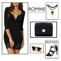 """1#Romwe"" by kivericdamira ❤ liked on Polyvore featuring romwe"
