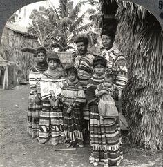 Seminole Indians whose forefathers inhabited the Everglades, Miami, Florida.