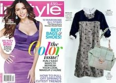 Check us out in the InStyle magazine  Vintage Deco Collar!  This Springs Must Haves!
