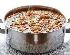 Lentil Stew with Dumplings - a simple meal to keep you warm and full