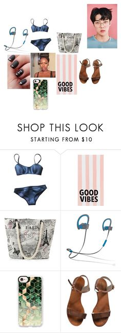 """""""EXO Sehun #10"""" by infinityisangel on Polyvore featuring Lisa Marie Fernandez, PBteen, Beats by Dr. Dre, Casetify and Emporio Armani"""