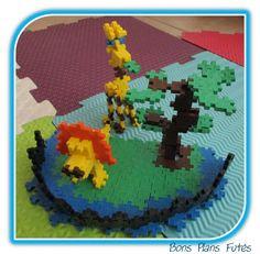 Jeu de construction modèle girafe Plus Plus