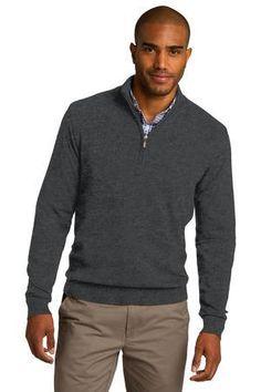 Port Authority® 1/2-Zip Sweater. SW290 #portauthority #menssweater #fallfashion