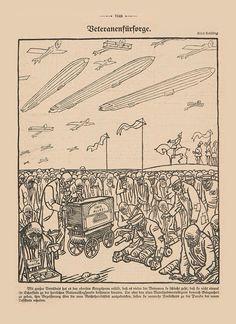 Satire, Zeppelin, Vintage World Maps, Magazines, Sarcasm