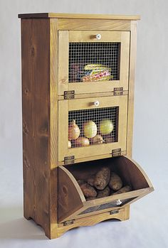 Wood Storage Bin Plans
