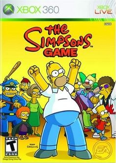 Finally a Simpsons game worth playing, and keeping!! Lol #FreeRoam #GameParodies