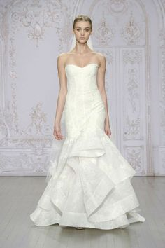 Monique Lhuillier Bridal Collection for Fall-Winter 2015