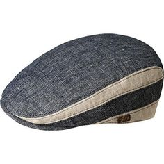 Men's Bailey of Hollywood Bruck Flat Cap 90085 Navy by Bailey of Hollywood