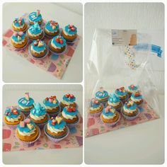 Hightea cupcakes