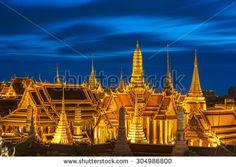 Bangkok City Pillars Shrine and Wat Phra Kaew