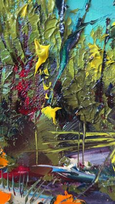 Original Fine Palette Knife Art Oil Paintings by Lisa Elley. Flow Painting, Still Life Drawing, Bright Paintings, Palette Knife Painting, Drawing Techniques, Artist Canvas, Easel, Painting Inspiration, Flower Art