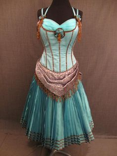 1800's Saloon Girl Gown