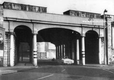 The railway wagons used to roll across the old Throston Bridge which has been long demolished. Middlesbrough, Old Pictures, Brooklyn Bridge, Interior And Exterior, Image Search, Past, Coastal, Old Things, History