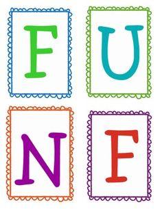 Free Fun Friday Behavior Motivator