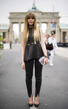 Mercedes-Benz Fashion Week Spring/Summer 2014 at the Brandenburg Gate in Berlin, Germany. http://bijools.co.uk/home