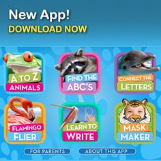 Ipad app: Animal Alphabet national geographic