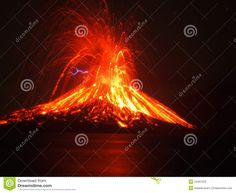 Photo about Anak Krakatau, the child of mount krakatoa, erupting. Image of geothermal, strait, anak - 24497029 Hawaii Volcanoes National Park, Volcano National Park, All About Volcanoes, Learn Something New Everyday, Plate Tectonics, Active Volcano, Pompeii, Natural Disasters, All About Time