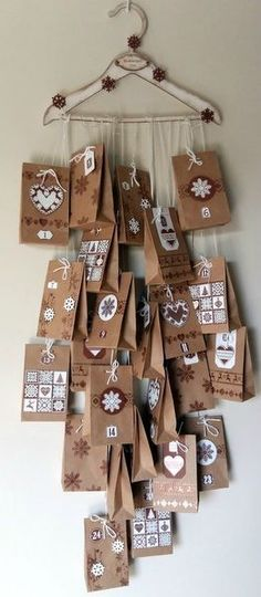 Advent Calendar – Welcome to Ramadan 2019 Advent Calenders, Diy Advent Calendar, Calendar Ideas, Christmas Projects, Holiday Crafts, Christmas Ideas, All Things Christmas, Christmas Holidays, Homemade Christmas Gifts